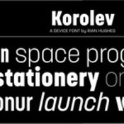 Korolev Font Family 20 Fonts icon