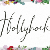 Creativemarket Hollyhock A Messy Calligraphy Font 69446 icon