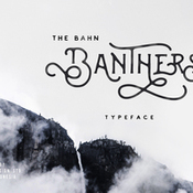Banthers typeface 361047 icon