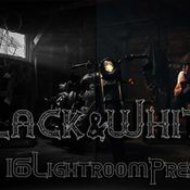 Black and white pro lightroom presets 376131 icon