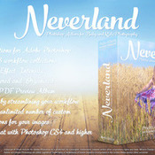 Actions for photoshop neverland icon