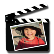 Photo to movie slideshow software icon