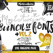 Big bunch of fonts volume 2 icon