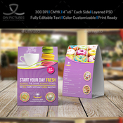 Cafe and restaurant table tent vol6 11653935 icon