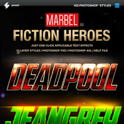 Blockbuster heroes style text effects 03 11368897 icon