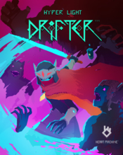 Hyper light drifter game boxshot icon