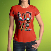 T shirt mock up female model classic edition 9641953 icon