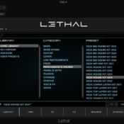 Lethal audio lethal core library icon