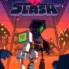 Heart and slash game icon