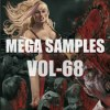 Mega samples vol 68 logo icon