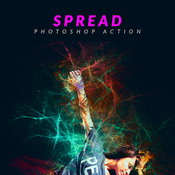 Spread photoshop action by psdsquare 17377705 icon