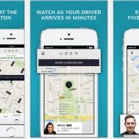 تجربه برنامج Uber لطلب التاكسي عن طريق الأيفون