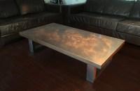 Contemporary Copper Furniture - Copper Finishes - Copper Tops