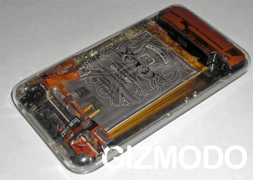iPhone clear shell