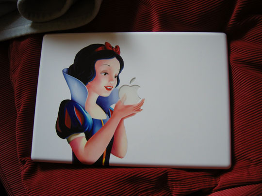 snow White macbook