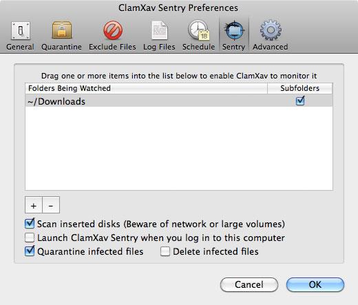 ClamXav antivirus