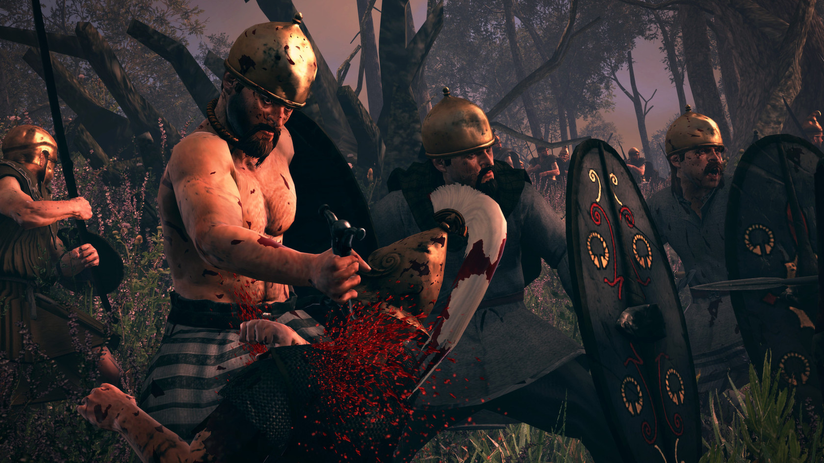 Total War Shogun 2 Fall Of The Samurai Wallpaper Total War Rome Ii Blood Amp Gore Macgamestore Com