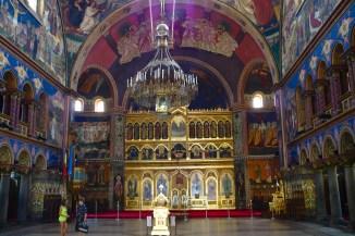 Sibiu: Eine der vielen Kirchen Rumäniens