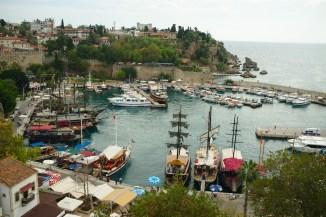 Antalya: Der romantische alte Jachthafen in der Bucht von Antalya