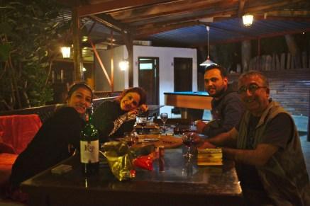 Patara: Pamir, Elif und Buse von der Medusa Bar waren ein wundervolles Team