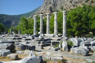 Priene: Tempel der Athena