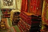 Esfahan: Auf dem Bazar finden sich traditionelle Teppiche überall