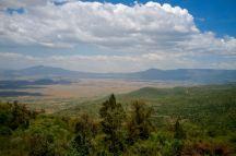 Das Rift Vally, ein bisschen typische Steppe gab es auch zu sehen, allerdings keine Tiere