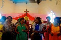 In der Kirche wird hier schonmal getanzt und gesungen