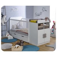 Lit Bb volutif Holly Blanc - Chambres de Fabrication ...