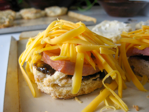 Overboard on cheese? Impossible.