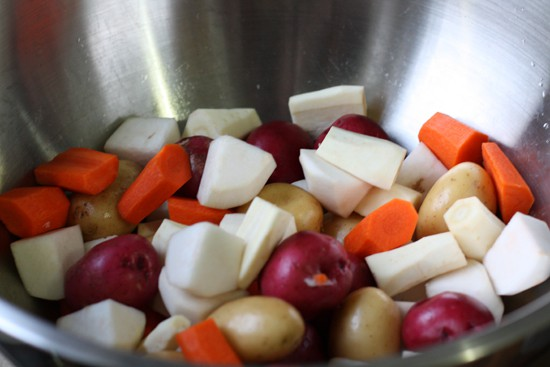 Potatoes, parsnips, turnips, carrots. Oh my!