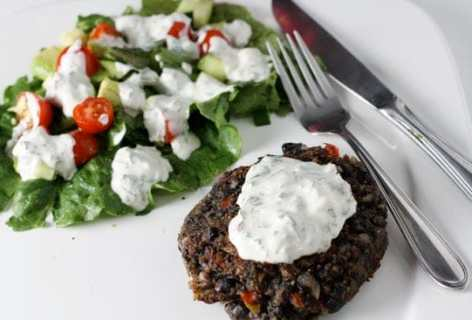 Spicy Black Bean Patties