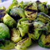 Cooking Photographer: Grilled Brussel Sprouts