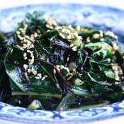 Simply Recipes: Kale with Seaweed, Sesame, and Ginger