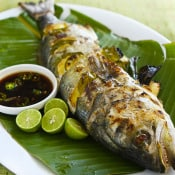 Steamy Kitchen: Grilled Whole Fish with Chili Soy Sauce