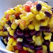 Stephanie Cooks: Black Bean and Corn Salsa