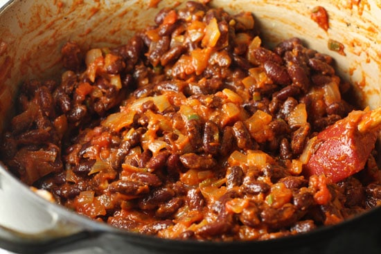 beans added