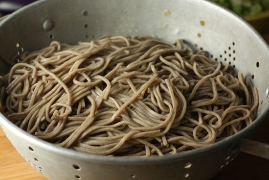 soba cooked