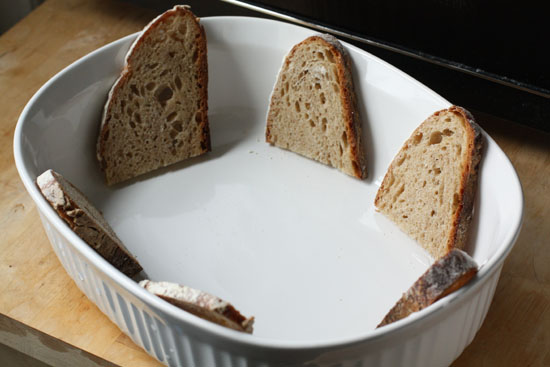 bread in dish
