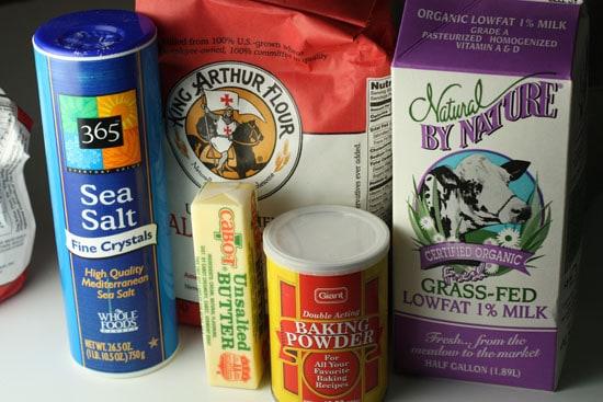 Homemade chalupa dough ingredients - Chalupas