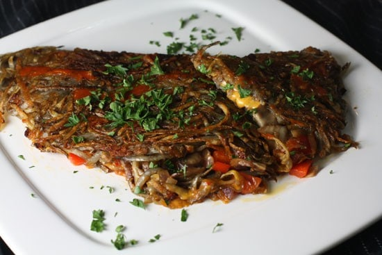 The Hash Brown Omelet