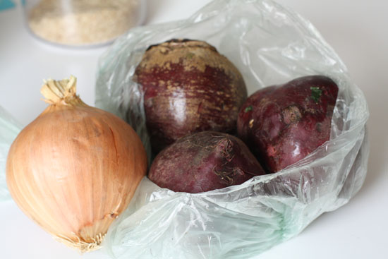 beets and onions