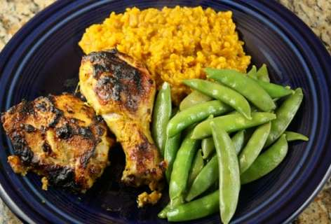 Broiled Tandoori Chicken