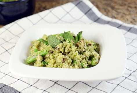 Quinoa and Veggie Pilaf