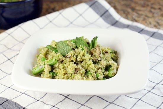 Quinoa and Veggie Pilaf
