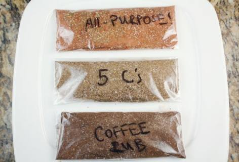 Three Homemade Dry Rubs