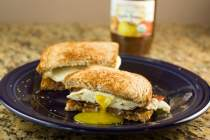 breakfast sandwich
