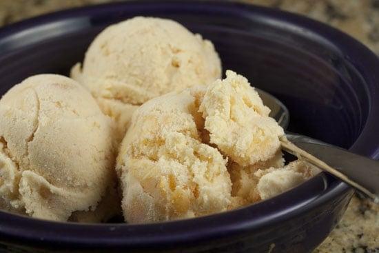 Buttermilk Peach Ice Cream