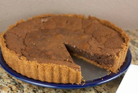Chocolate Orange Chess Pie