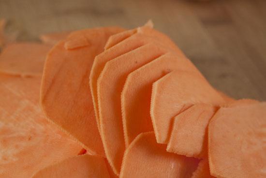 thin - Sweet Potato Chips